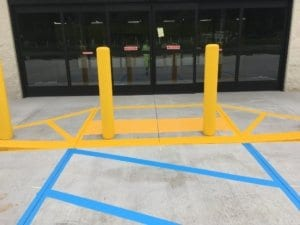 steel pipe bollards repair Myrtle Beach SC