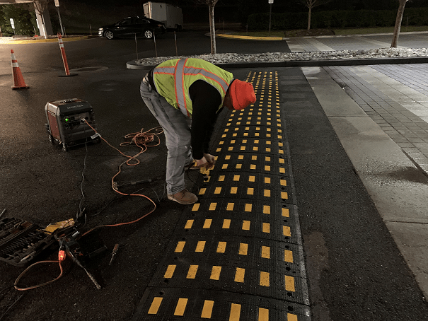 speed bump installation contractor GA