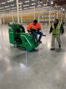 warehouse floor shot blasting - Peachtree City, GA